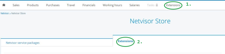 Activate Netvisor